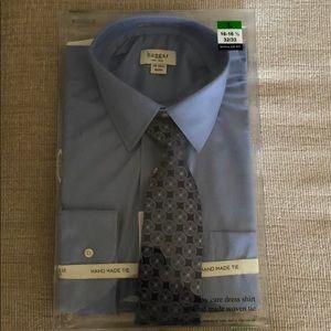 Dress Shirt & Tie